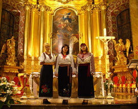 Concert in Cathedral of Keltse - Poland, 2005