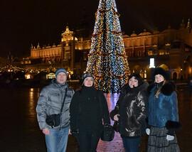 26.12.1014 Kraków to program świąteczny i wywiad dla Radia Lublin