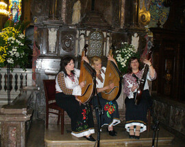 Spectacle dans cathedral de Plotsk, 2007