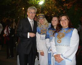 """Wystep """"Oriany"""" dla Konsulatu Generalnego Ukrainy we Wloszech"""