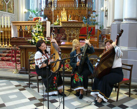 Concert in Cathedral of Radom – Poland, 2007