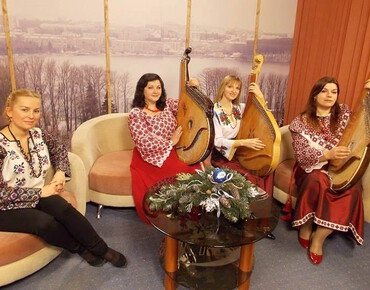 Oriana on Ternopil television