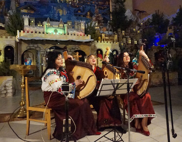 The festive concert of carols at the Cathedral of Holy Virgin of Zarvanytsia
