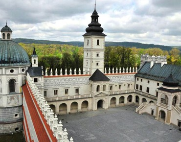 Oriana gave a concert in the castle of Krasiczyn in Poland